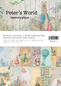 Peter's World A4 Collection Paper Pack - Memory-Place - PRE ORDER