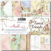 Forest Friends 6x6 Paper Pad - Asuka Studio - PRE ORDER