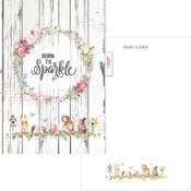 Forest Friends Post Cards Born to Sparkle - PRE ORDER