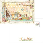 Forest Friends Post Cards Tea Time - PRE ORDER