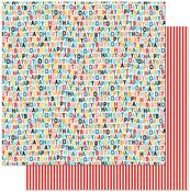 Happy Birthday Icons Paper - Hooray - Authentique