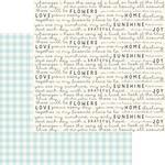 Birdie Paper - Gingham Gardens - My Minds Eye