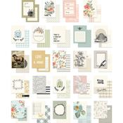 Gingham Gardens Journal Cards - My Minds Eye