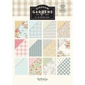 "Gingham Gardens 6""X8"" Paper Pad - My Minds Eye"