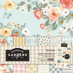 Gingham Gardens Paper & Accessories Kit - My Minds Eye