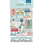 Cityscapes Stickers - Mini Collection - My Minds Eye