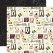 Postage Stamps Paper - Scenic Route - Echo Park