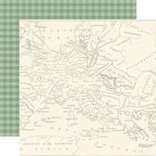 Map Of Europe Paper - Scenic Route - Echo Park - PRE ORDER
