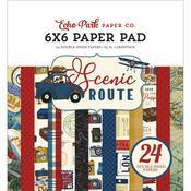 "Scenic Route 6""X6"" Paper Pad - Echo Park"