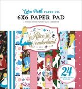 Alice In Wonderland No.2 6x6 Paper Pad - Echo Park - PRE ORDER