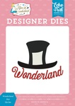 Wonderland Hat Die Set - Alice In Wonderland No.2 - Echo Park