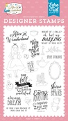Always Dream Stamp Set - Alice In Wonderland No.2 - Echo Park