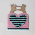 Heart Hands Wiper Insert Die Set - i-Crafter