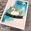 Tunnel Card Base Swan Die Set - i-Crafter