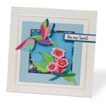 Hummingbird Happiness Die Set - i-Crafter