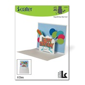Happy Birthday Wiper Insert Die - i-Crafter - PRE ORDER