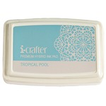Tropical Pool Hybrid Ink Pad - i-Crafter