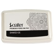 Shaved Ice - White - Hybrid Ink Pad - i-Crafter - PRE ORDER