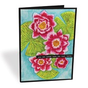 Water Lily 3D Embossing Folder - i-Crafter