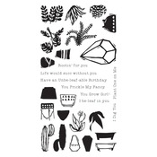 Positively Plants Clear Stamps - i-Crafter