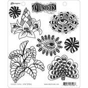 Foliage Fillers Dylusions Cling Stamp - Dyan Reaveley