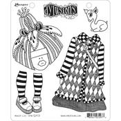 Maisie Lilly Dylusions Cling Stamp - Dyan Reaveley