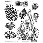 She Sells Sea Shells Dylusions Cling Stamp - Dyan Reaveley