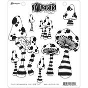 There's No Mushroom In Here! Dylusions Cling Stamp - Dyan Reaveley