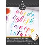 Watercolor Brush Lettering Grid Paper Pad - Kelly Creates
