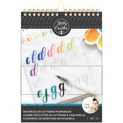 Kelly Creates Watercolor Brush Lettering Workbook Script Lettering