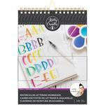 Kelly Creates Watercolor Brush Lettering Workbook Block Letters