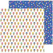 Scoops Paper - Live Life Happy - Pebbles - PRE ORDER