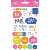 Live Life Happy Sticker Book - Pebbles - PRE ORDER