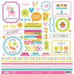 Hey Cupcake This & That Sticker Sheet - Doodlebug