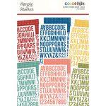 Bolds Alpha Sticker Book - Simple Stories