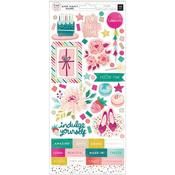 And Many More Cardstock Stickers - Pink Paislee - PRE ORDER