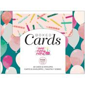 And Many More A2 Cards W/Envelopes - Pink Paislee - PRE ORDER