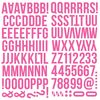 Pink Foam Alpha Stickers - Simple Stories