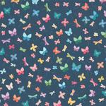 Whimsy Patterned Single-Sided Paper - American Crafts