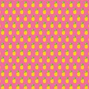 Pineapple Crush Patterned Single-Sided Cardstock - American Crafts - PRE ORDER