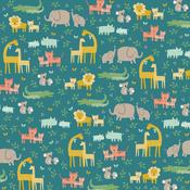 Jungle Adventure Patterned Single-Sided Cardstock - American Crafts - PRE ORDER