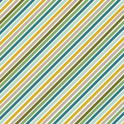 Jungle Stripes Patterned Single-Sided Cardstock - American Crafts - PRE ORDER