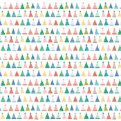 Party Hats Patterned Single-Sided Cardstock - American Crafts - PRE ORDER