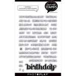 Birthday Stamp Set - Say It With Stamps - Photoplay - PRE ORDER