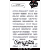 Congrats Stamp Set - Say It With Stamps - Photoplay - PRE ORDER