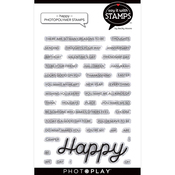 Happy Stamp Set - Say It With Stamps - Photoplay - PRE ORDER