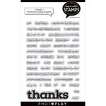 Thanks Stamp Set - Say It With Stamps - Photoplay