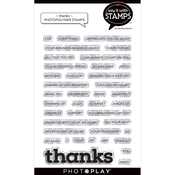Thanks Stamp Set - Say It With Stamps - Photoplay - PRE ORDER