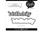 Birthday Die Set - Say It With Stamps - Photoplay