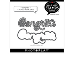 Congrats Die Set - Say It With Stamps - Photoplay - PRE ORDER